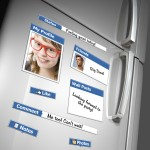 Fridge Book Magnet - Facebook Magneter