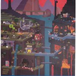 Minecraft Sam Cube Poster