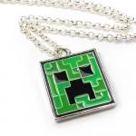 Minecraft Creeper Pendant Halsband