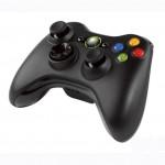 Xbox 360 Trådlös Handkontroll (Wireless Controller) - Svart / Black