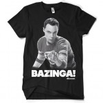 Sheldon Says BAZINGA! T-Shirt