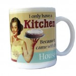 Mugg I only Have a Kitchen...
