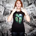 Minecraft Three Creeper Moon Dam T-shirt