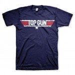 Top Gun Distressed Logo T-Shirt