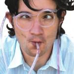 Sugrörs-glasögon