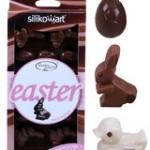 Formar för påskchoklad