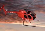 Helikoptersightseeing för två