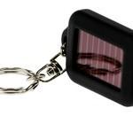 LED-ficklampa med solceller